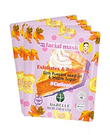 Seed Oil Sugar Maple Extract Face Mask Set of 4 Mask, 0.88 oz