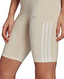Women's Striped Pull-On Shorts