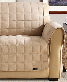 Sure Fit Soft Faux-Suede Waterproof Pet Slipcover Throw Collection