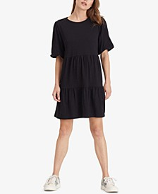All Day Bubble-Sleeve Dress