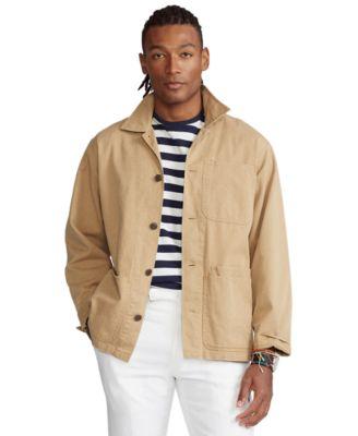 폴로 랄프로렌 유틸리티 셔츠 자켓 - 탠 Polo Ralph Lauren Mens Twill Utility Overshirt