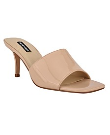 Women's Donna Square Toe Low Dress Sandals
