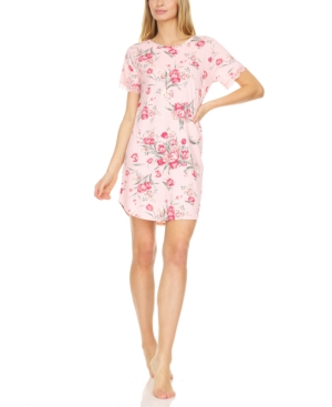Averie Floral-Print Sleep Shirt Nightgown