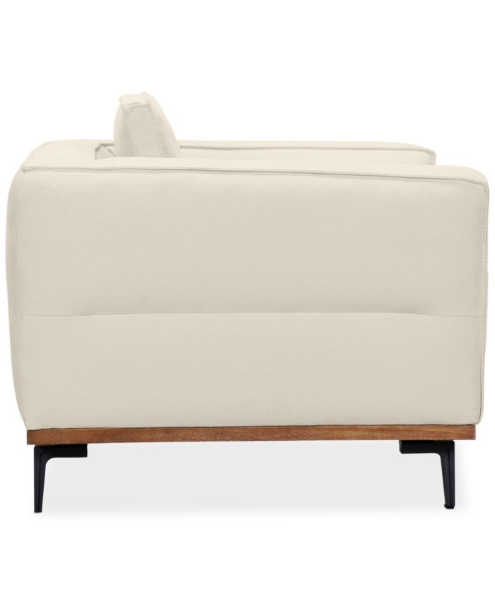 """Furniture Aubreeze 89"""" Fabric Sofa, Created for Macy's & Reviews - Furniture - Macy's"""