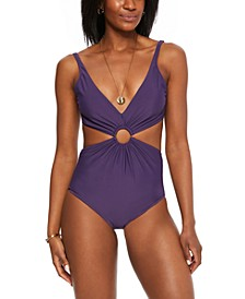 Ring Monokini One-Piece Swimsuit, Created for Macy's