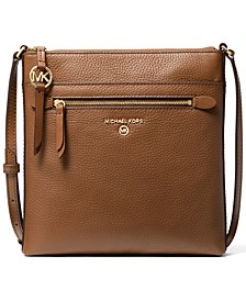 Jet Set Charm Small NS Flat Leather Crossbody