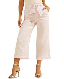 Tessa Linen Culotte Pants