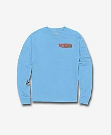 Toddler Boys Catback Long Sleeve T-shirt
