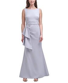 Double-Drape Gown