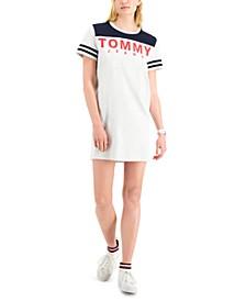 Cotton Graphic T-Shirt Dress