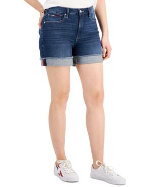 Tommy Jeans Cuffed Denim Shorts