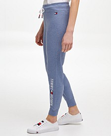 Women's Logo Jogger with Rib Cuff