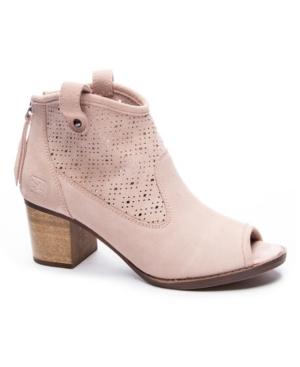 Women's Trixie Peep-Toe Booties Women's Shoes