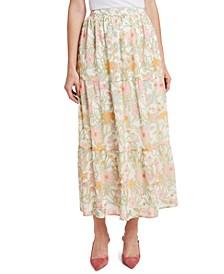 Verona Garden Tiered Ruffled Skirt