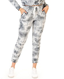 Petite Tie-Dyed Jogger Pants