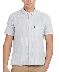 Men's Stripe Seersucker Shirt