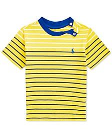 Baby Boys Striped Jersey T-Shirt