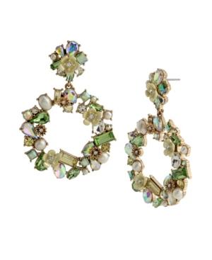 Flower Cluster Wreath Earrings