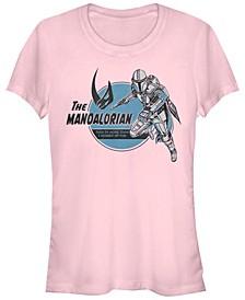 Juniors Star Wars Mandalorian Mando Jetpack Racerback Tank Top