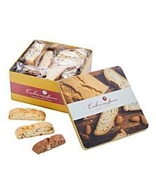 Assorted Gourmet Italian Biscotti Tin