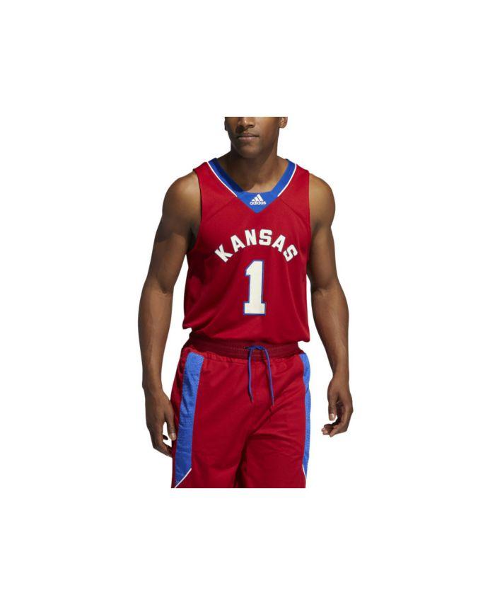 Adidas Kansas Jayhawks Men's Reverse Retro Swingman Jersey & Reviews - NCAA - Sports Fan Shop - Macy's