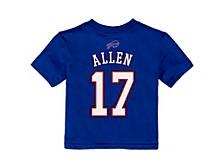 Buffalo Bills Infant Mainliner Player T-Shirt - Josh Allen
