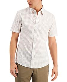Men's Stretch Mini Tossed MK Logo Short Sleeve Shirt