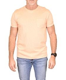 Men's Negative Slub Pocket Crew Shirt
