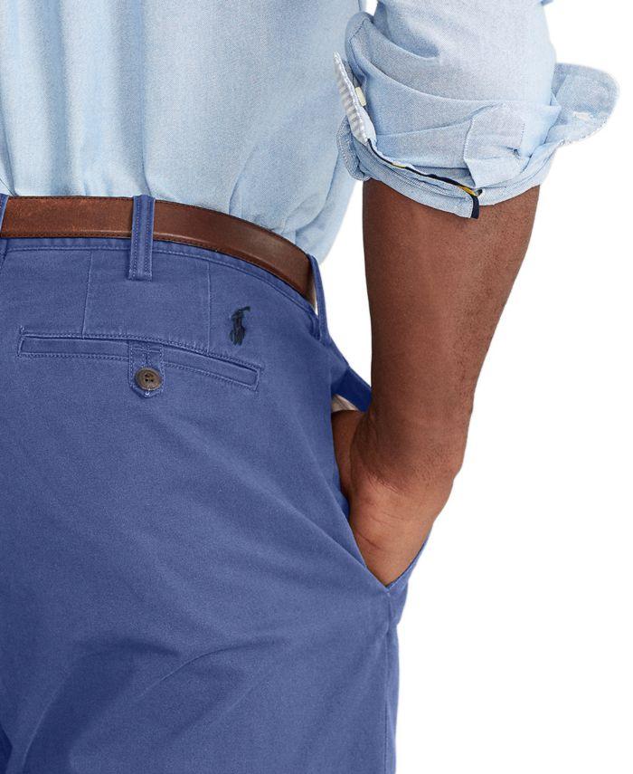 Polo Ralph Lauren Men's Stretch Classic-Fit Chino Pants & Reviews - Pants - Men - Macy's