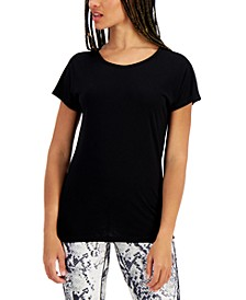 Women's Scoop-Neck T-Shirt, Created for Macy's