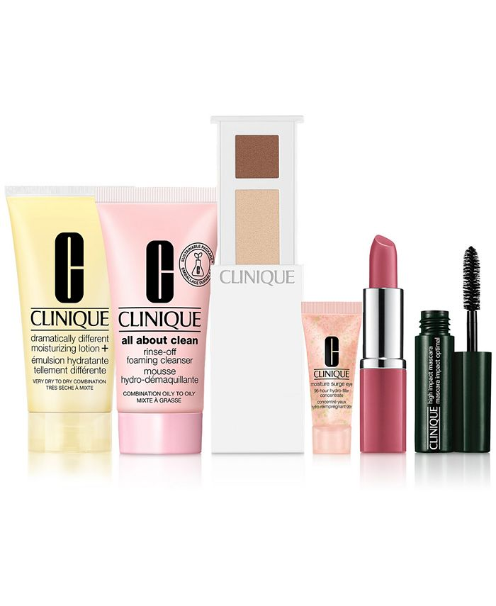 Clinique - Receive a Free 7-PC Gift  with any $85  purchase!