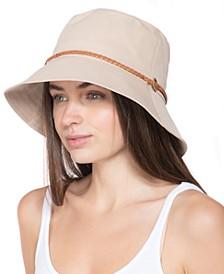 INC Buckle-Trim Bucket Hat, Created for Macy's