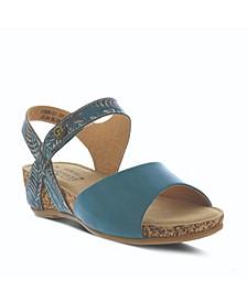 L'Artiste Women's Ceylan Wedge Sandals