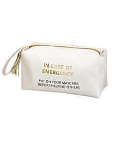 In Case of Emergency Cosmetic Makeup Bag