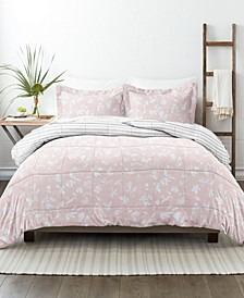Home Collection Premium Down Alternative Reversible Comforter Set, Full/Queen