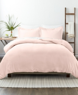 Ienjoy Home Home Collection Premium Ultra Soft 3 Piece Duvet Cover Set, King/california King Bedding In Blush