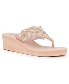 Women's Gold Coast Wedge Beach Sandals