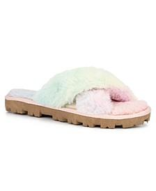 Women's Belvedere Furry Slide Sandals
