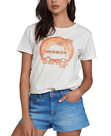 Cotton Rainbow Van-Graphic T-Shirt