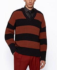 BOSS Men's Rugby V-Neck Sweater