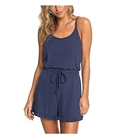 Juniors' Summer With Strappy Romper