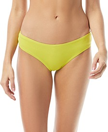Riviera Shirred Cheeky Bikini Bottoms