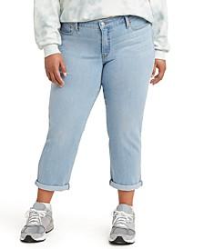 Trendy Plus Size Boyfriend Jeans