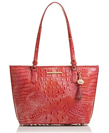 Medium Asher Melbourne Leather Tote