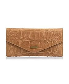 Leather Veronica Black Bergen Envelope Wallet
