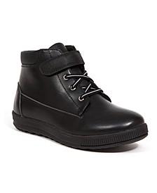 Little Boys Quinton Memory Foam Dress Casual Comfort High Top Sneaker Boot