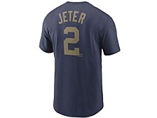 New York Yankees Men's Enshrined in Gold Player T-Shirt - Derek Jeter