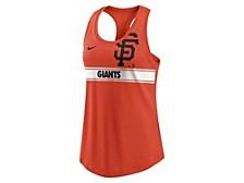 Women's San Francisco Giants Cropped Logo Racer Tank