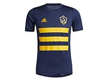 Men's LA Galaxy Three Stripe Life Pitch Creator T-Shirt