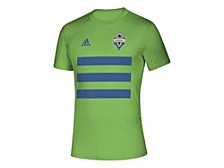 Men's Seattle Sounders Three Stripe Life Pitch Creator T-Shirt